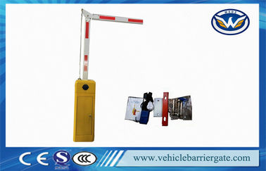 Çin Parking Lot Barrier Gate Operator / traffic gate arms 90 Degree Folding Tedarikçi