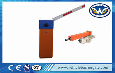 Çin Parking System 4S Automatic Barrier Gate With Loop Detector / Photocell Tedarikçi
