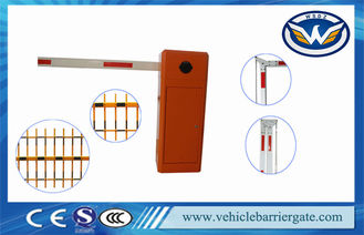 Çin Manual Release Car Park Entrance Barriers Automatic Boom Barrier 1400rmp Tedarikçi