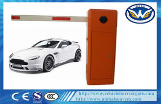 Çin LED Boom Automatic Toll Barrier Gate , 0.6s High Speed Boom Barrier Tedarikçi
