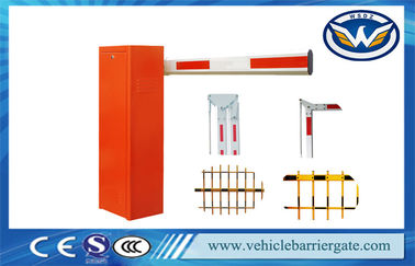 Çin Highway Cold Roll Plate Toll Barrier Gate With Long Range RFID Reader System Tedarikçi