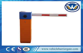 Çin Colored Parking Barrier Gate , Aluminum Boom Car Park Barrier Systems Tedarikçi