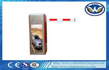 Çin Waterproof Heavy Duty Driveway Barrier Gates , Automatic vehicle barrier system CE Tedarikçi