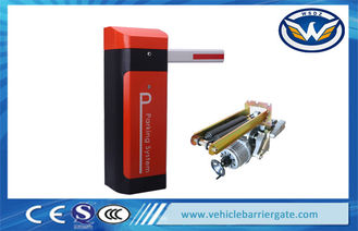 Çin Toll Station Intelligent automatic parking barriers High Speed security barrier gate Tedarikçi