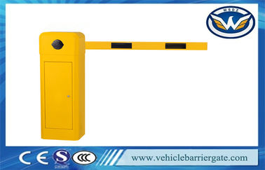 Çin Commercial Intelligent Yellow Harga Vehicle Barrier Gate For Access Control Tedarikçi