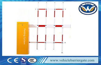 Çin OEM Push Button vehicle Parking Barrier Gate 3 Fence Folding Arm Tedarikçi