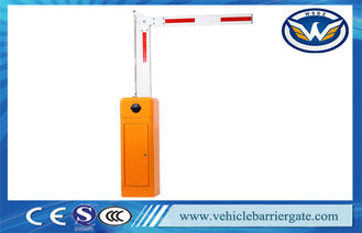 Çin Nice Design Vehicle Barrier Gate System , Swing Out Arm Automatic Boom Barrier Tedarikçi