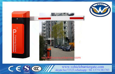 Çin 80W arm automatic barrier gate Operator With AC Reliable Electro Mechanical Drive Tedarikçi