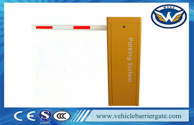 Çin 2Mm Cold Rolled Steel Sheet Traffic Barrier Gate 80*45 Swing Out Straight Arm Tedarikçi