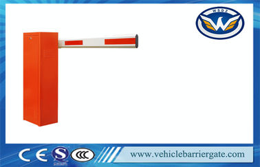 Çin Parking Lot Intelligen tParking Barrier Gate With LED Light Arm Tedarikçi