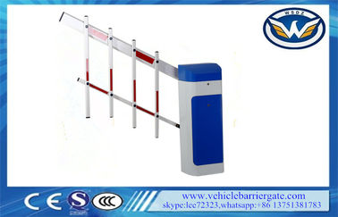 Çin Clutch Device Toll Barrier Gate 1 - 6 Meters Aluminum Alloy Straight Arm Tedarikçi