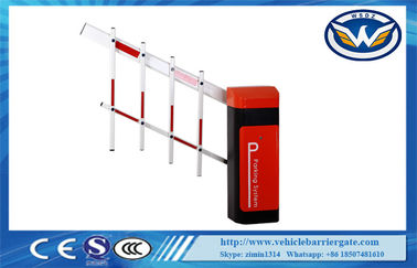 Çin Led Light Rubber Boom Road Safety Traffic Barrier Gate For Access Control System Tedarikçi