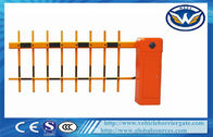 Çin Remote Control Toll Barrier Gate Retractable Fence Gate For Parking Access Fabrika