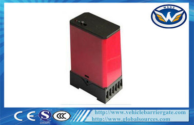 Çin Single Vechile Loop Detector For Road Barrier Gate , Inductive Loop Traffic Detector Fabrika