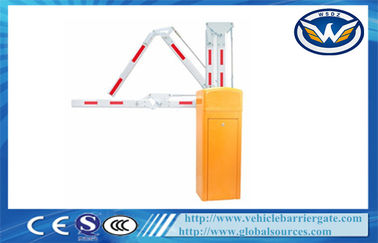 Çin Traffic Barrier Gate With Straight Boom And Auto - Closing Function Fabrika