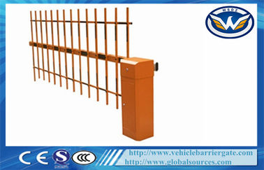 Çin RFID Automated Motorised Boom Gate Intelligent Barrier Parking Barrier Retractable Fabrika