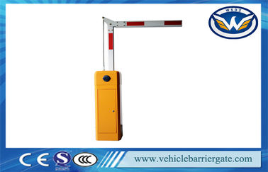 Çin 80W Bus Station Automatic Boom Barrier Gate with 90 Degree Boom Fabrika