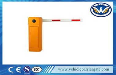 Çin 50hz 220v Parking System Barrier Gate Arm With Manual Release Fabrika