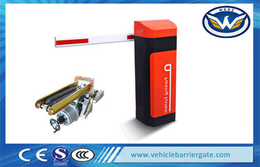 Çin Road Safety Automatic Car Parking Barriers , Access Control Traffic Barrier Systems Distribütör