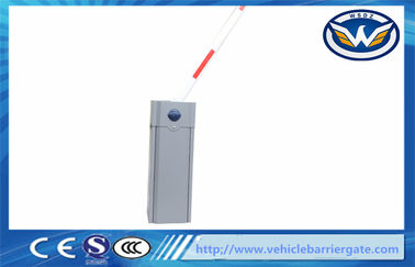 Çin Grey Color automatic barrier gate / car parking barriers Operator Manual Release Fabrika