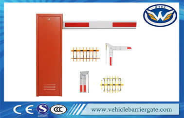 Çin Vehicle Barrier Arm Gate , Security Boom Barriers For Parking Lot Management System Distribütör