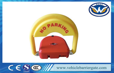 Çin CE Approved car parking space protector , Remote Control Parking Barrier Lock Distribütör