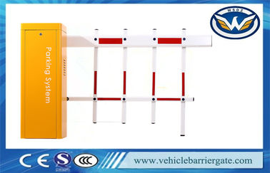 Çin Toll Entrance Gate Vehicle Barrier Gate 2 Folding Fence Boom 4 Meters Fabrika