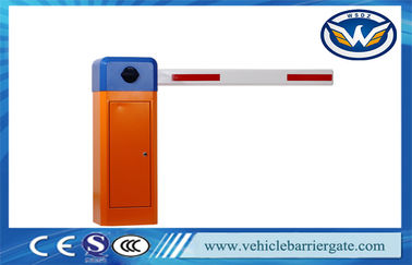 Çin Automatic Driveway Barrier Gates / Car Parking Boom Barrier Gate IP44 Grade Distribütör