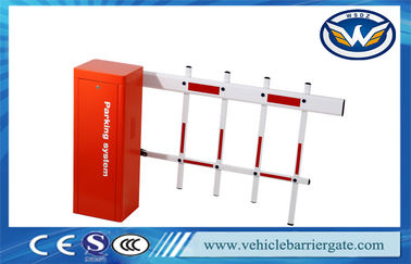 Çin Road Barrier Gate Operator Parking Traffic Barrier Boom Gate Customized Color Fabrika