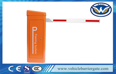 Çin Access Control Fully Automatic Car Parking Barrier Gate 6 Meter Straight Boom Fabrika