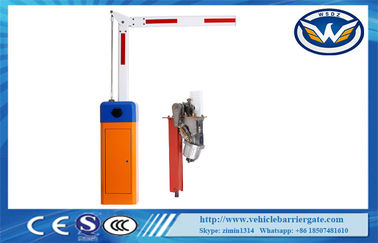 Çin Stainless Steel Parking Traffic Barrier Gate / Automatic Car Park Barriers Access Control Distribütör