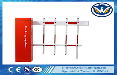 Çin AC220V Motor Remote Control Car Parking Barrier Gate For Toll System , CE / ISO Distribütör