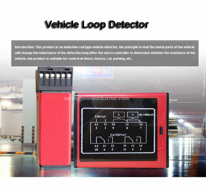 Automatic Inductive Detector Sliding Gate Motor Accessories Wireless Loop Detector