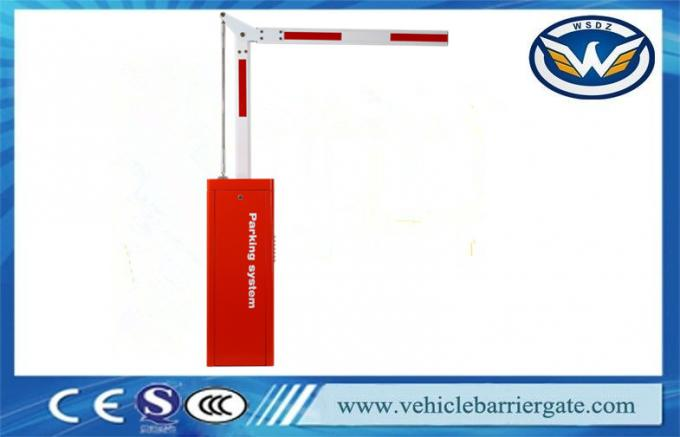 Heavy Duty No Maintenance Car Park Barriers 5M 90 Degree Folding Arm